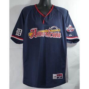 Detroit Tigers Justin Verlander All Star Jersey XL